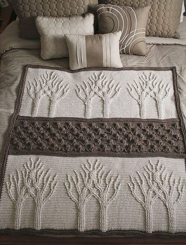 """Crochet Your Own Tree of Life Afghan Homesteading  - The Homestead Survival .Com     """"Please Share This Pin"""""""