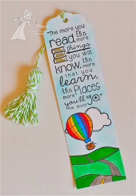 153 best bookmarks images on pinterest book markers How to make a simple bookmark