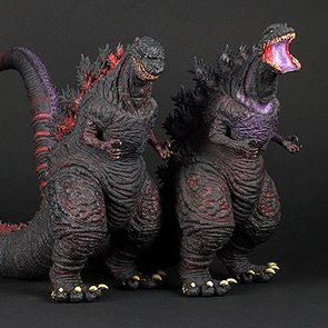 Full Review: Toho Large Monsters Series Shin Godzilla (2016), Standard and RIC vinyls by X-Plus