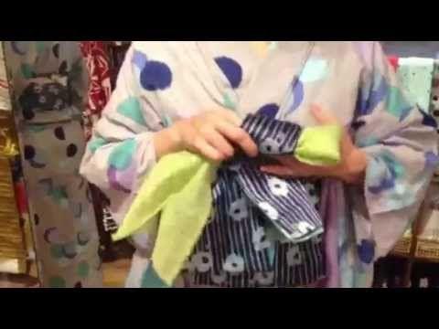 2013夏『ちどりこ紐』で簡単カワイイ浴衣帯結び〜ひとりで着付け編〜