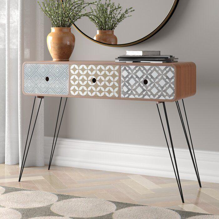 Latitude Vive Ankara Console Table Reviews Wayfair Co Uk In 2020 Console Table Hallway Console Table Furniture
