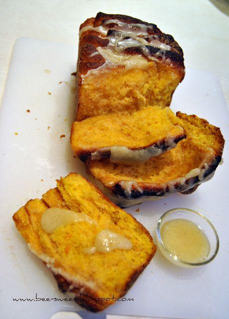 Bee Sweet: Ciasto dyniowe z cynamonem i lukrem waniliowym (Pu...