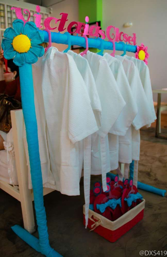 spa pamper party Birthday Party Ideas | Photo 7 of 21 | Catch My Party