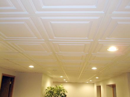 Fresh Cost Of A Drop Ceiling In A Basement