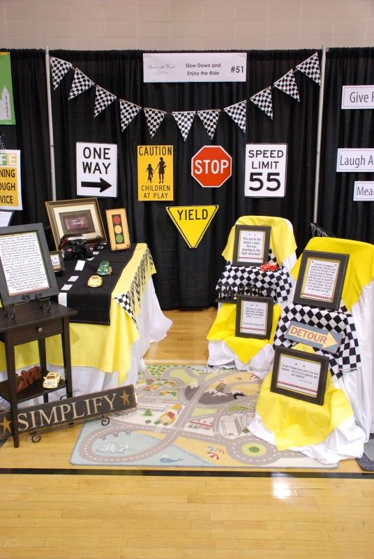 Slow down and enjoy the ride signs-BYU Women' Conference