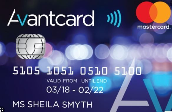 Avant Credit Card Login With Images Credit Card Scanner