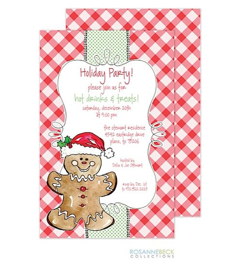 7 besten Christmas Dessert Party Invitations Bilder auf Pinterest