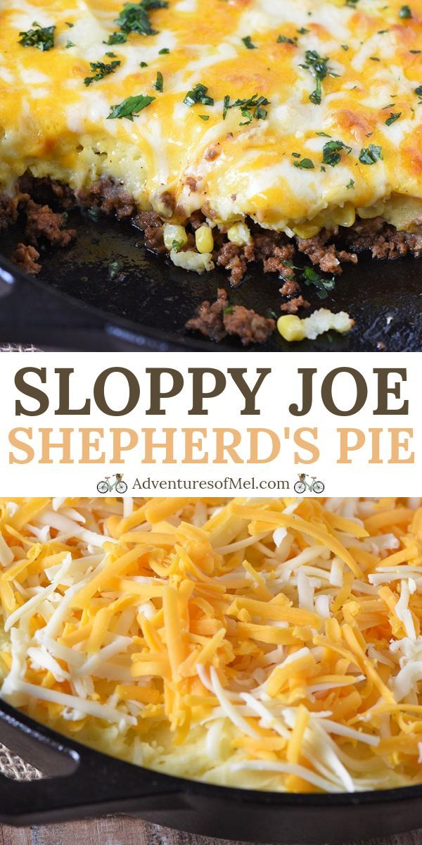 How To Make A Deliciously Cheesy Sloppy Joe Shepherd S Pie Recipe With Ground Beef Corn Mash Beef Recipes For Dinner Shepherds Pie Recipe Ground Beef Recipes