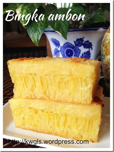 It Is Still Not Perfect Yet - Indonesian Honey Comb Cake–Bika Ambon or Bingka Ambon