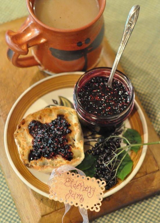 Elderberry Jam, out to pick my elderberries right now.....
