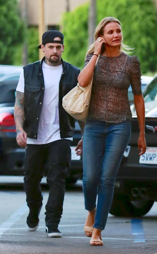 BENJI MADDEN & CAMERON DIAZ The new couple hit up Casa Vega restaurant for a Mexican food dinner with his sister-in-law Nicole Richie.