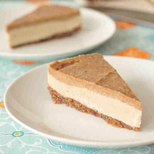 34. Salted carmel cheesecake   49 Vegan & Gluten Free Recipes For Baking In October