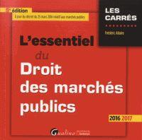 Frédéric Allaire - L'essentiel du Droit des marchés publics. - Agrandir l'image
