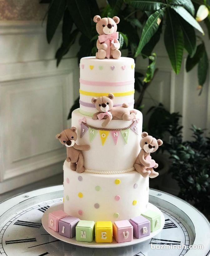 ایده های ناب برای جشن شما Baby Birthday Cakes Cake Baby Cake