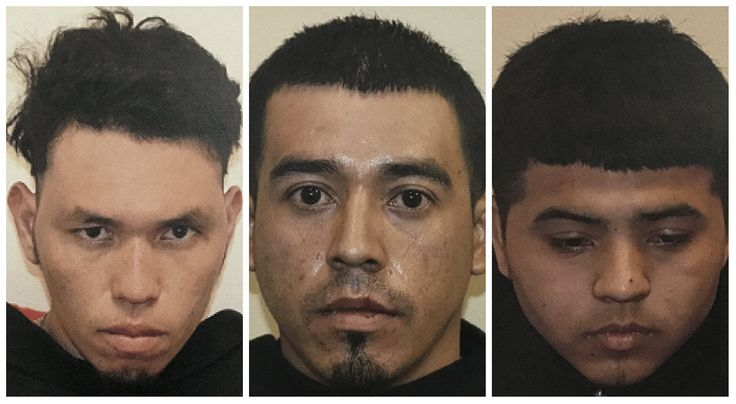 Victor Arnoldo Rodas, 19; Jose Coreas-Ventura, 21; and Lisandro Posada-Vazquez, 24, are charged with second-degree murder in the death of 17-year-old Raymond Wood, whose body was found March 27 in Goode.    Authorities have said the three suspects are undocumented immigrants from El Salvador and members of the MS-13 gang. Rodas and Posada-Vazquez had been living in Lynchburg. Coreas-Ventura is wanted in connection with a June 2016 homicide in Maryland.