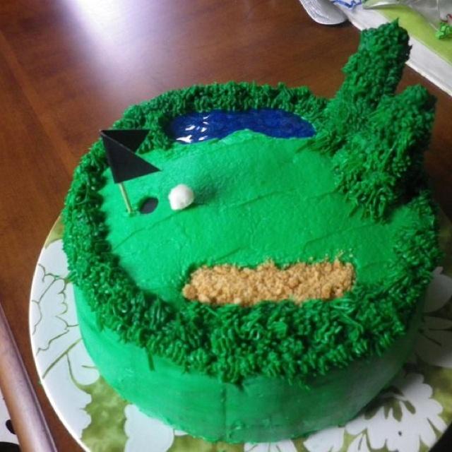 Dads 70th Birthday cake