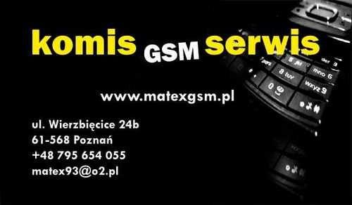 MatexGsm - Komis,serwis i naprawa telefonów komórkowych. http://matexgsm.pl