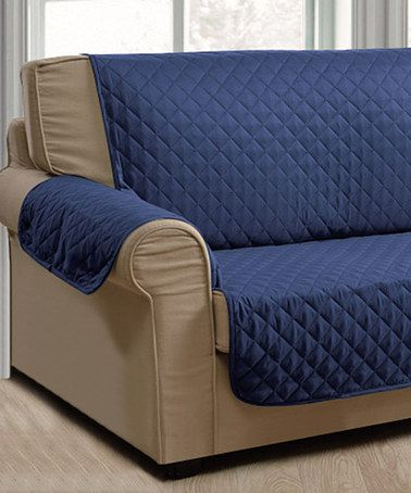 Love This Navy U0026 Gray Deluxe Reversible Furniture Protector On #zulily!  #zulilyfinds