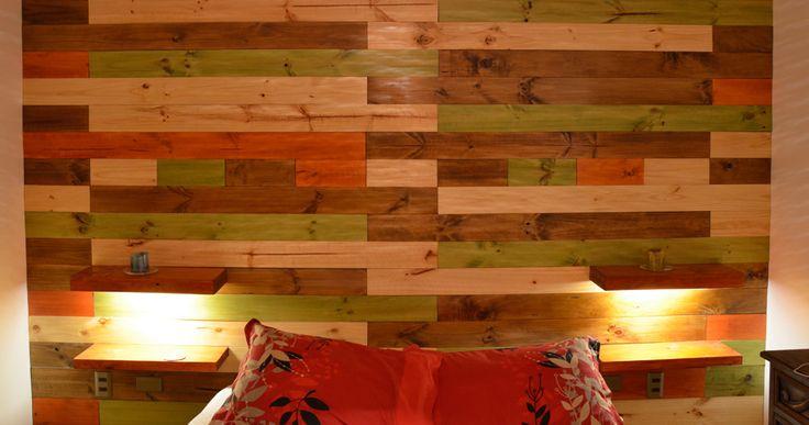 Revestimiento de madera y pallet revestimientos en muros for Revestimiento tipo madera