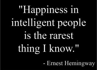 Hemingway always had a way with words.