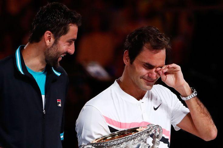 Roger Federer vs Marin Cilic (6/3-6/7-6/3-3/6-6/1) (3h02de match) - 28 janvier 2018 - Finale de L'AO 2018  - Rod Laver Arena - Melbourne  20ème titre du GC