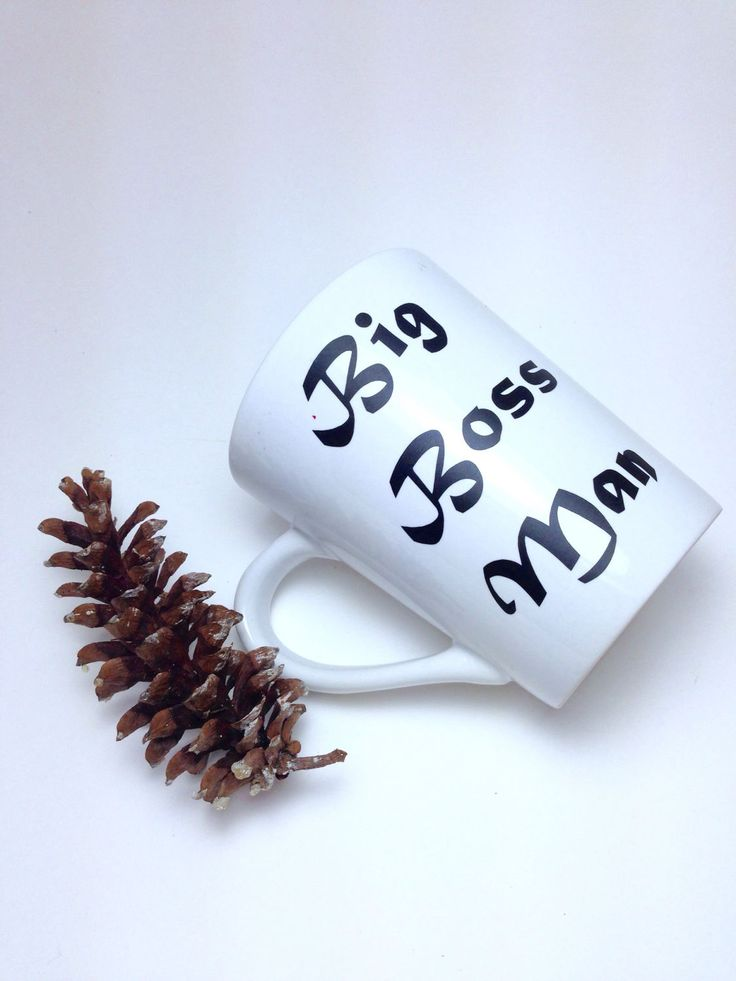 A personal favorite from my Etsy shop https://www.etsy.com/listing/502584032/fathers-day-gift-big-boss-man-mug-gift