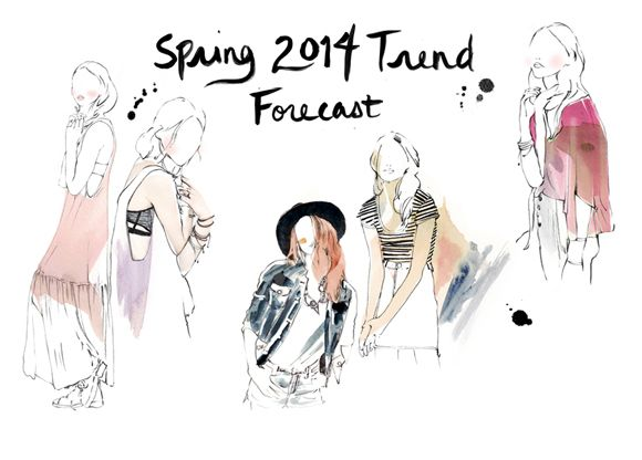 Post image for Spring 2014 Trend Forecast
