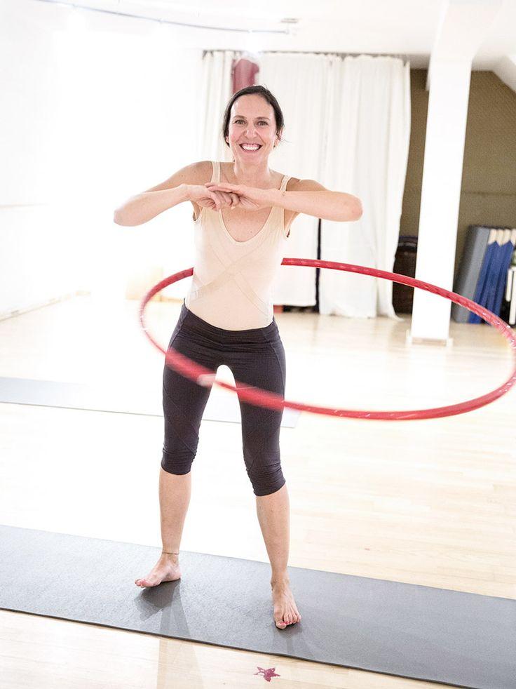 Endlich ein Sport, der Spaß macht: So läuft das Hula Hoop Workout | Stylight