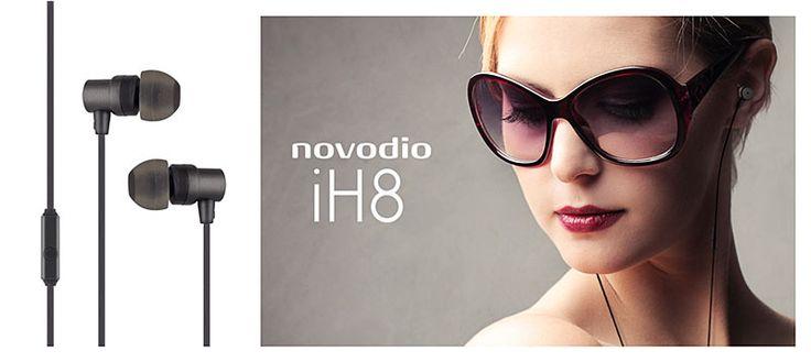 NOUVEAUTE NOVODIO : écouteurs intra-auriculaires avec micro et télécommande - #accessoires #high #tech #technologie #Novodio #Macway #ecouteurs #musique #audio