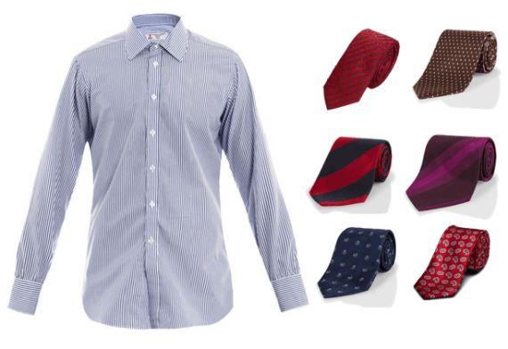 Combinar gravatas e camisas que possuem padrões ou estampas é uma das maiores…