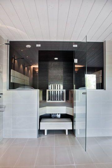 Cool sauna. Looks really comfy