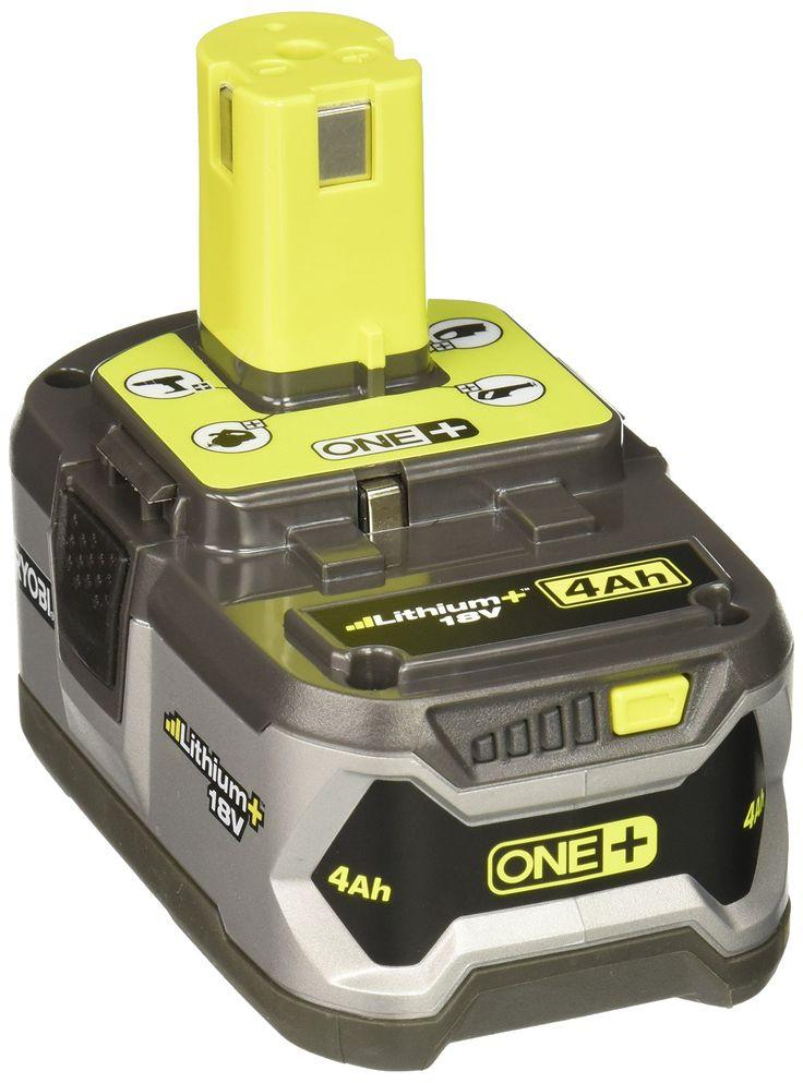 Ryobi P108 4AH One+ High Capacity Lithium Ion Battery For Ryobi Power Tools (Single Battery)