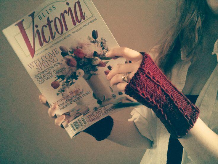 Vintage knitting love
