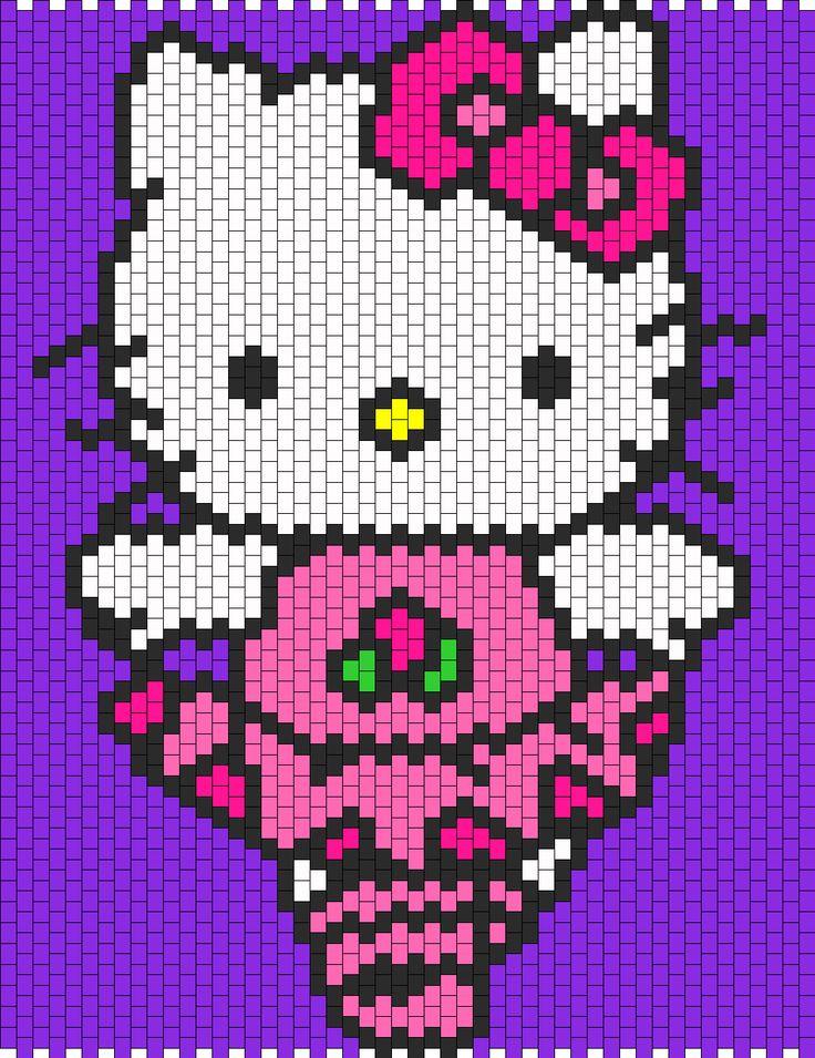 Hello Kitty Ballet bead pattern