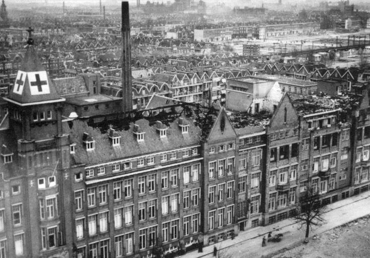 Het sint franciscus gasthuis gaf in de oorlogsjaren veel for Bios rotterdam