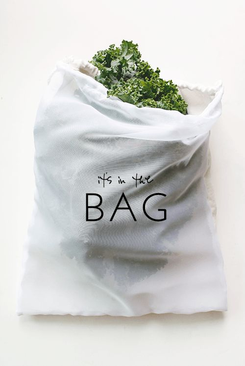 How to Make Your Own (Super Absorbent) Produce Bags                                                                                                                                                     More