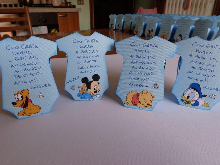 Scatoline porta confetti per una nascita