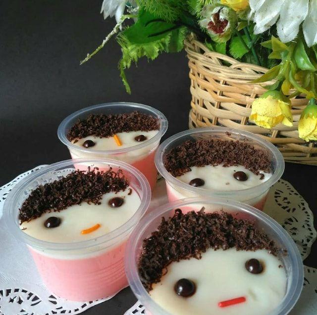 Cara Membuat Puding Karakter Lucu Resep Puding Pudding Desserts