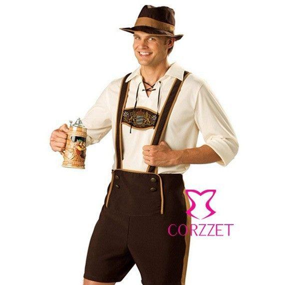 Латекс одежда одежда бурлеск сексуальный карнавальный костюм пиво мальчик ролевая хэллоуин косплей костюмы наряд костюм