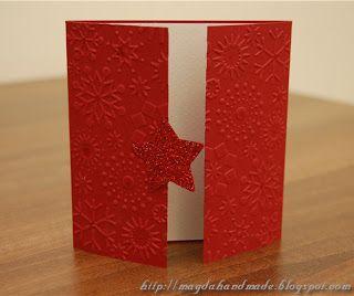 Felicitare de Crăciun MH004 / Christmas Greeting Card MH004