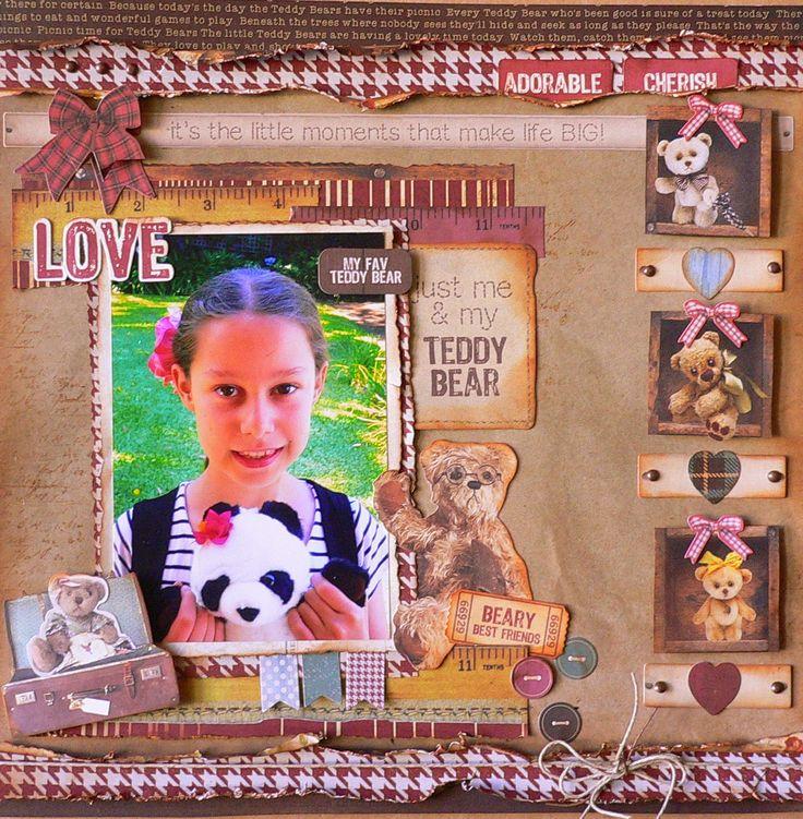 Kaisercraft - Teddy Bear's Picnic - Adriana Bolzon