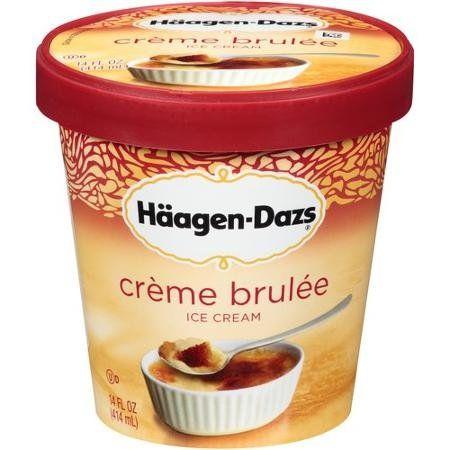 Haagen Dazs Ice Cream Crème Brulée