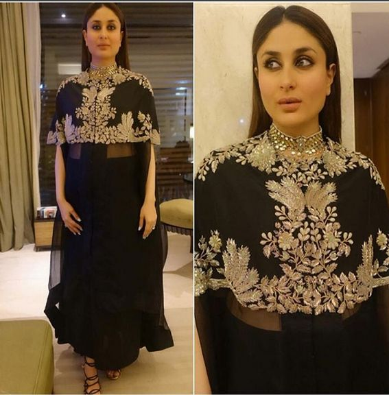 Kareena Kapoor Khan In A Beautiful Embroidered Outfit