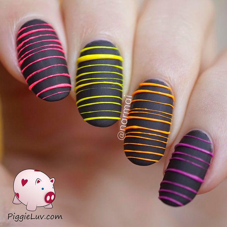 Más de 50 uñas decoradas para que uses en el 2015   Decoración de Uñas - Manicura y Nail Art