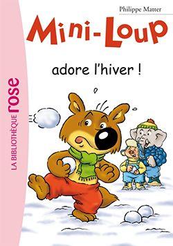 Mini Loup adore l'hiver par Philippe Matter