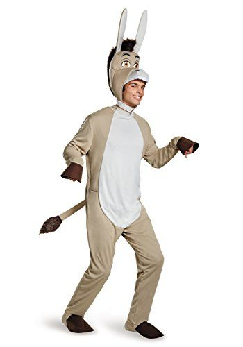 Disguise Mens Shrek Donkey Deluxe Costume Grey X-Large @ niftywarehouse.com #NiftyWarehouse #Shrek #Movies #Movie