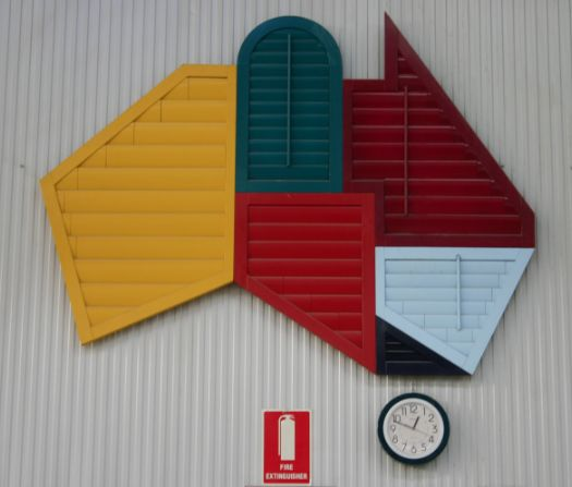 Shutters made in Australia to any shape by #OpenShutters