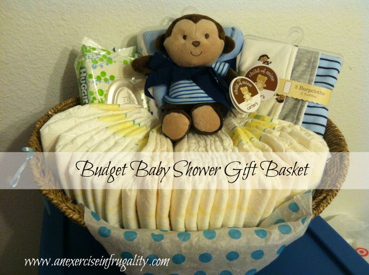 How To Make A Budget Baby Shower Basket - An Exercise In Frugality