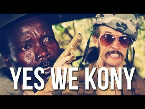 Kony: it had to come to this.    Yes We Kony, by Juice Rap News