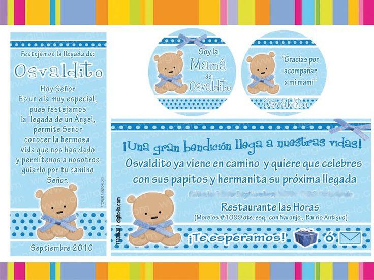 frases para invitaciones de baby shower de niño - ALOjamiento de ...